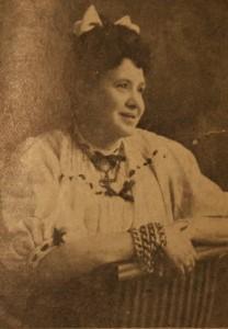 Marie-Louise Sirois-Cloutier. Image tirée d'un article de Maurice Gagnon publié en 2008.