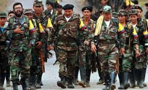 Fuerzas armadas revolucionarias de Colombia Crédits : Aotearoa Independent Media Centre