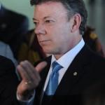 Le président colombien Juan Manuel Santos Crédits : Fabio Rodrigues Pozzebom/ABr