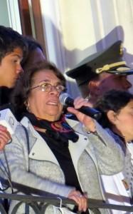 La candidate de l'UP Aida Abella Crédits : El Turbión (Flickr, image recadrée)