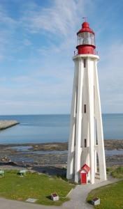 Phare Pointe-au-Père, Bas-Saint-Laurent. Crédits : Serge Guay