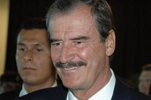 Vincente Fox, président mexicain de 2000 à 2006. Crédits qbac07 (Flickr).